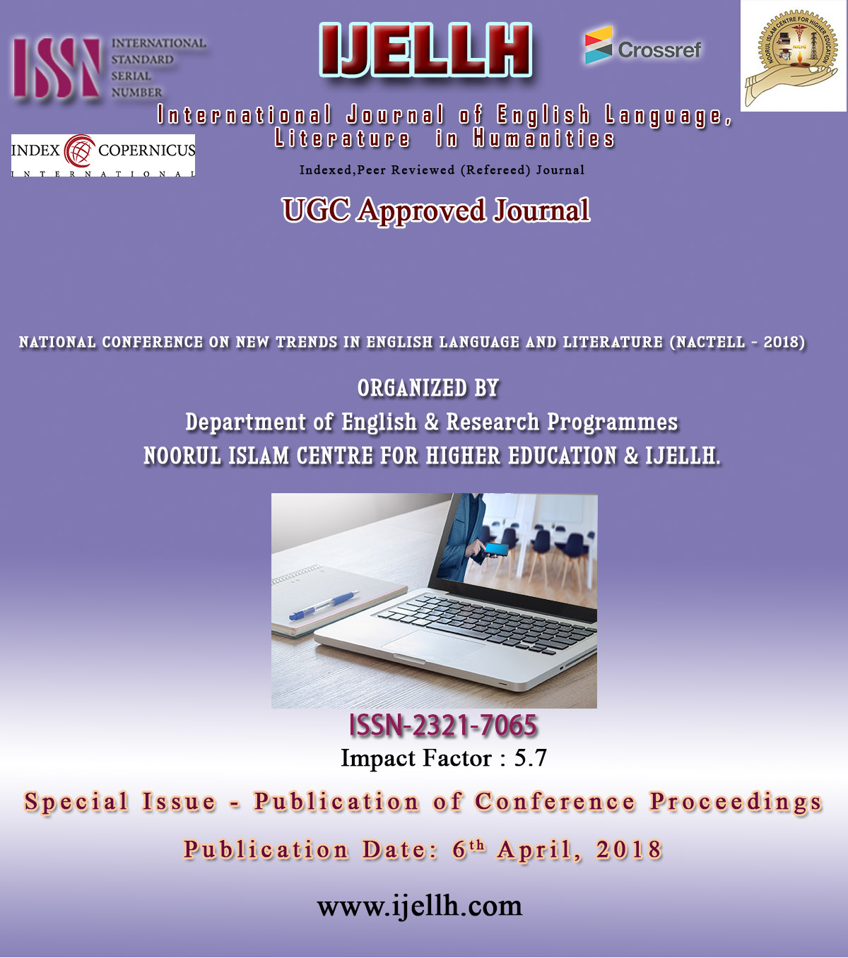 View Vol. 6 No. 4 (2018): Special Issue - Publication of Conference Proceedings