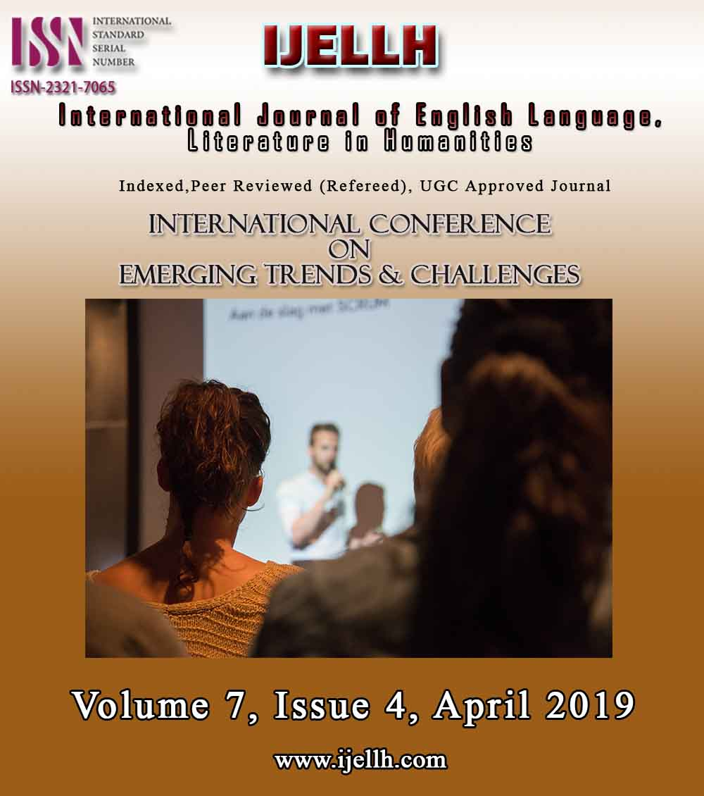 View Vol. 7 No. 4 (2019): International conference  on  emerging trends & challenges